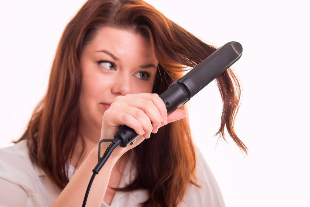 can hair straighteners damage hair